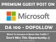 Write And Publish Guest Post On Microsoft. Microsoft.com - DA100