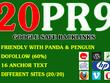 20 PR9 High DA Authority Permanent Backlinks Boost SEO Rank