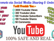 Boost YouTube Videos Rank Organically [Go Viral]Get REAL Traffic