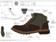 Create a tech pack for your footwear design