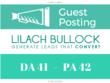 Write and Publish Guest Post on - LilachBullock.com DA 41