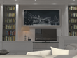 Render an interior space ( one room) of your house