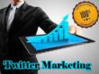 Do twitter marketing for
