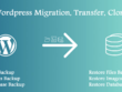 Migrate a WordPress website to a new server or domain