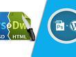 Convert PSD to responsive HTML Pages Or PSD to WordPress