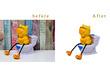Remove   20 photos  background
