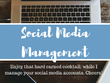 Develop and manage your social media platform(s)
