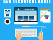 Comprehensive 70-point SEO technical audit of your website