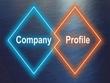 Write unique company profile for your company
