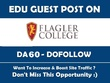 Guest post on flagler.edu DA60 Dofollow blog