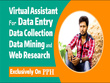 Do Web Research, Linkedin Research, Data Research