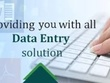 Do all kind of professional Data Entry 2 hour in 1day