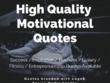 Design 100 High Quality Motivational Quotes