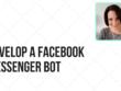 Create a Facebook messenger bot