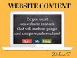 Write 600 words website content with clarity and personality