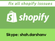 Support 1 hour Fix/Update/Customization of your shopify store