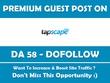Publish a Guest Post on My Technology Blog. Tapscape.com - DA 58