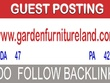 Publish a guest post on gardenfurnitureland.com DA - 47