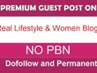 Guest post on 5 TOP Quality Lifestyle & Women Blogs