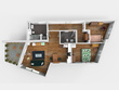 Model your floorplan into 3D