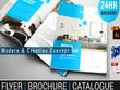 Design luxury professional brochure / catalogue / leaflet /