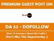 Write & Publish Guest Post on Slosh Spot. Sloshspot.com - DA 52