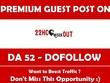 Publish Guest Post on 22HCWorkout.com - DA 52 (3 days left)