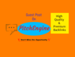 Write & publish on Pitchengine.com with dofollow backlinks