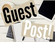 Write and publish a guest post on ndebted.com DA 40