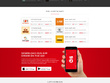 Design creative psd website homepage & landing page for you