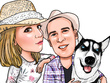 Draw a cartoon for your facebook, blog site or podcast avatar