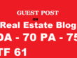 Publish Guest Post on Authority Real Estate Website ( DA :70 )