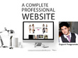 Create Professional Fully Responsive Website For You