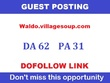 Publish a DOFOLLOW  guest post on real newspaper website DA 62