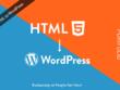 Create html/PSD to wordpress