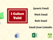 Collect 100 Email Address For Marketing And Business