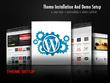 I Will Install Your Wordpress Theme And Setup Like Demo