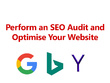 Perform an SEO audit and optimise your web pages