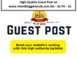 High Quality Guest Post on mombloggersclub.com DA - 50 PA - 52