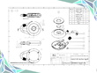 Create a detailed and dimensioned engineering drawing.
