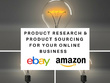 Research & Source Products & Suppliers for eBay Amazon Business