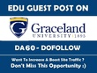 Guest Post on Graceland University - graceland.edu - DA 60