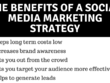 Create a full social media marketing strategy plan