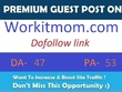 Publish a guest post on Work It Mom - WorkitMom - DA 50