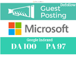 Write And Publish A Guest Post On Microsoft DA 100 PA97 Dofollow
