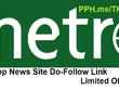 Metronews Guest Post Do-Follow Link on Newspaper Website DA 66+