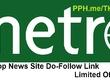 Metronews Guest Post Do-Follow Link on Newspaper Website DA 66+