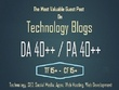 Write & Guest Post on Tech Guest Post, Health Guest Post