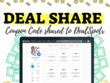 Post Any Deal To Dealspotr + Share to Facebook