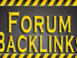Manually Create 10 Do-Follow niche related Forum Post Back link